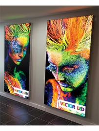 gallery/large wall mounted lightbox